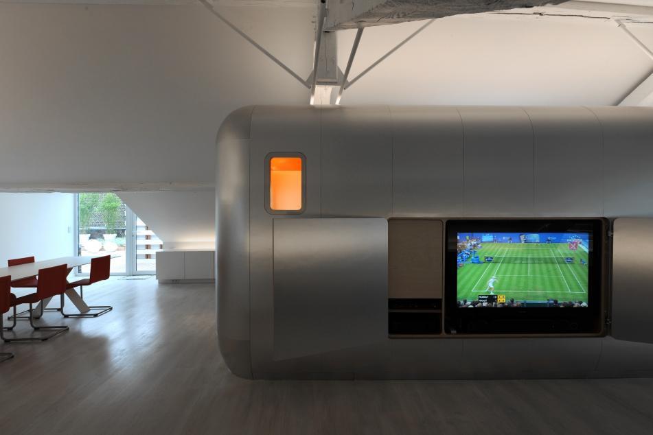 Awesome Hi Tech Loft Wohnung Loft Dethier Architecture Gallery