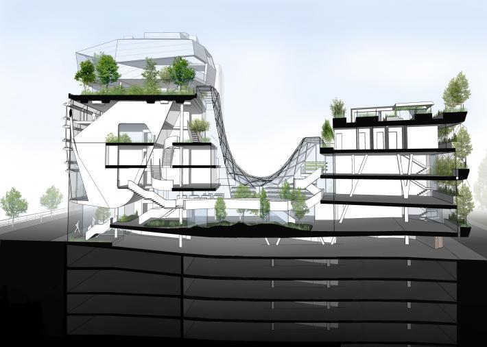 Marc quai marcellis liège dethier architecture